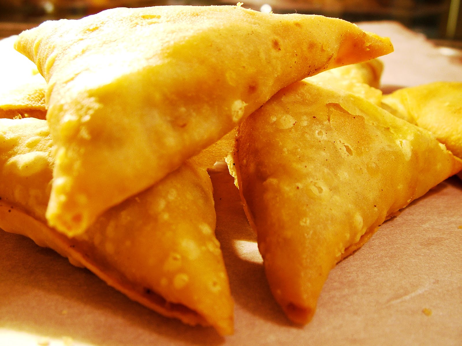 Now Offering Traditional Indian Samosa And Spring Rolls Asj Catering