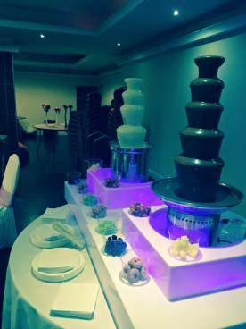 choc fountain